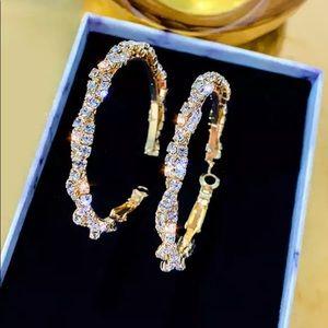 Gorgeous Gold Hoop Earrings